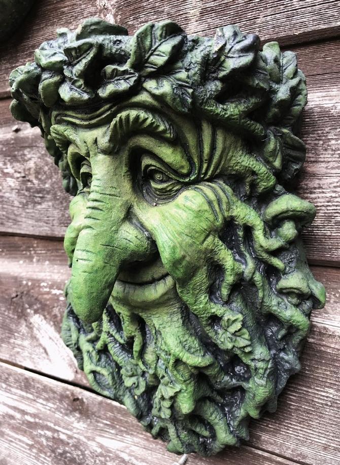 Treebeard Green Man plaque